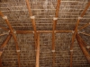 Detail of the palapa roof construction