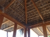Notice the palapa is surrounded by windows, but the corners are not sealed so the palapa is always nice and fresh, but not windy